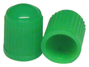 Heavy Duty Green Nitrogen Caps with Red Seals